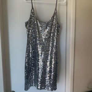 Fun sequence party dress Large